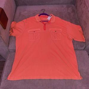 Orange Tommy Bahama Shirt